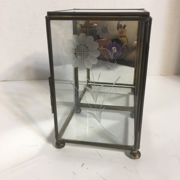 THIS IS NOT AVAILABLE Anymore!!Glass Display Box!